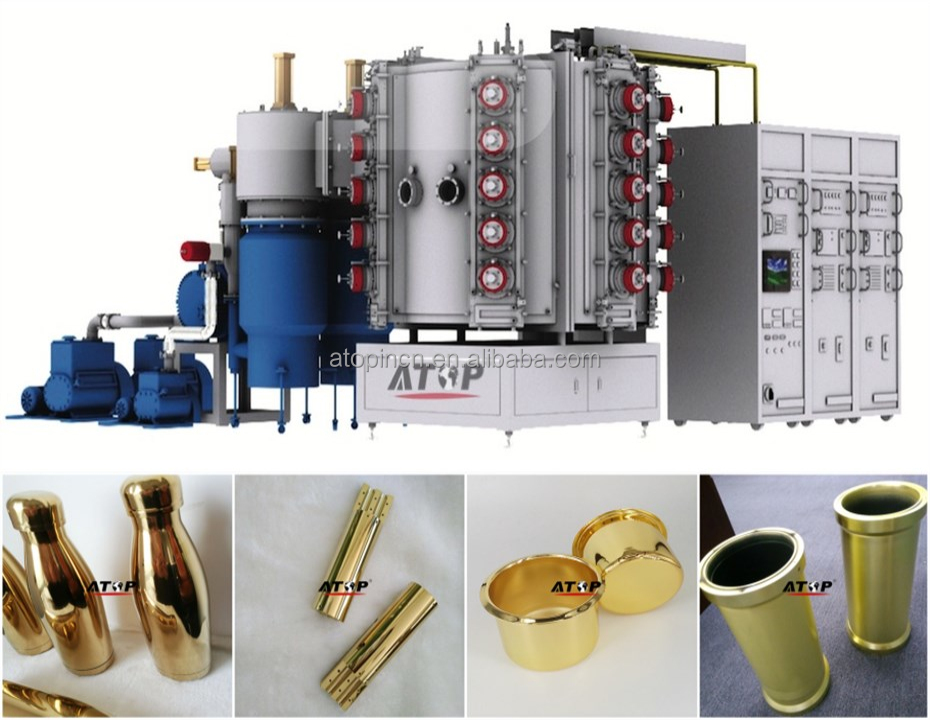 ATOP Arc Ion Coating Machine for Gold Coating /Gold Plating