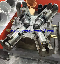 plastic pipe fitting mould injection machine for pipe molding