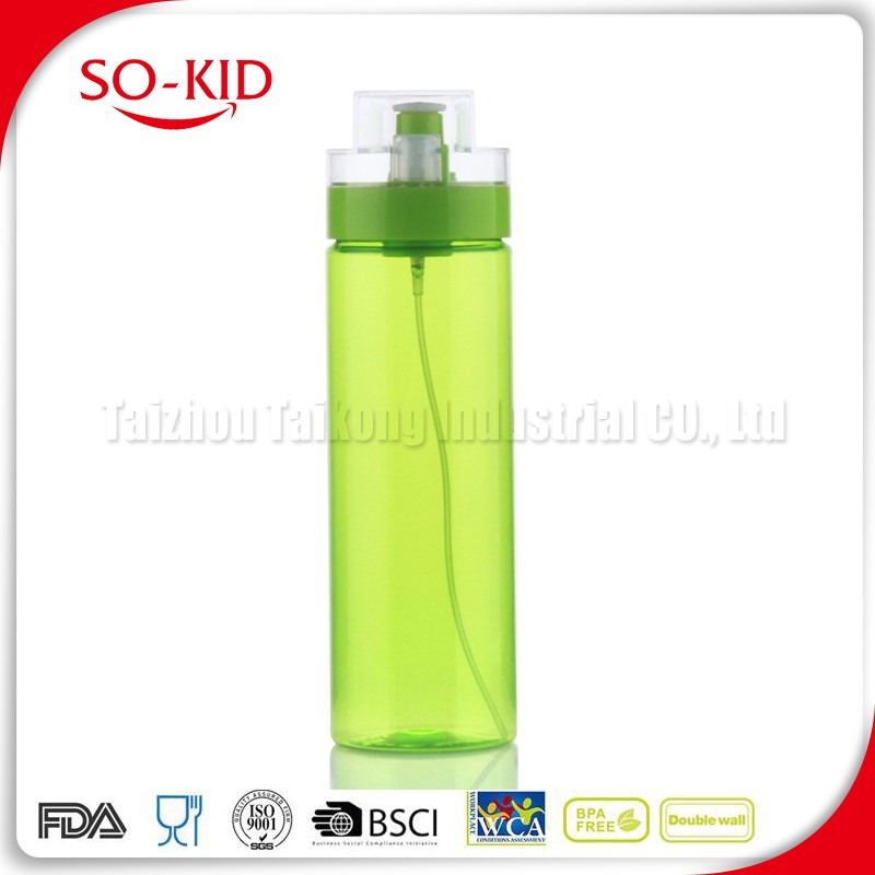 Portable Custom Tritan Plastic Water Bottle For Soda