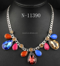 2017 new style necklace, statement necklace, wholesale cheap gold plating fashion jewelry