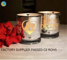 valentines day gifts panty rose glass candle holder