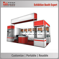 International advertising large-scale aluminum extrusion trade show exhibition booth