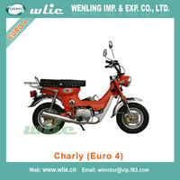 Top quality hot sales homologue 125cc street motorcycle high new cafe racer (eec euro approval) Charly 125 (Euro 4)