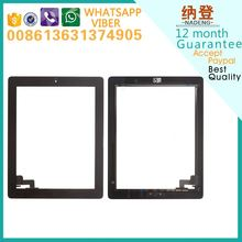 Wholesale price replacement parts for ipad 2 touch screen full with home button test one by one