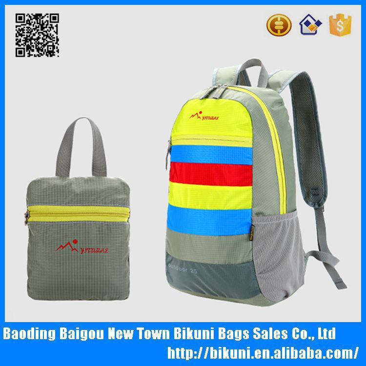 Waterproof hiking school backpack women sports pack China factory