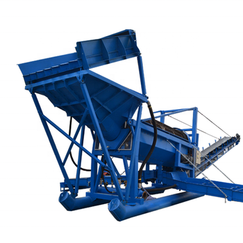 Sand washing plant for gold minming