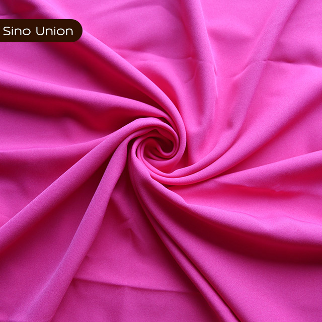 Fashion simple design cheap polyester material wholesale plain Islamic Muslim woven clothing hijab fabric
