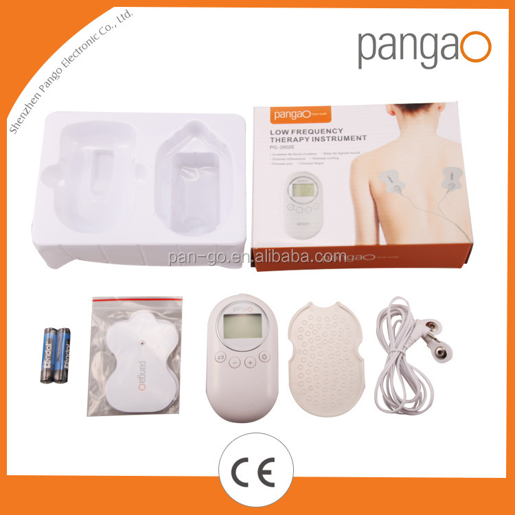2016 Newest Tens Machine for Massage Body with Tens Electrode Pads