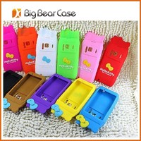 3D animal silicon cover cases for nokia n8