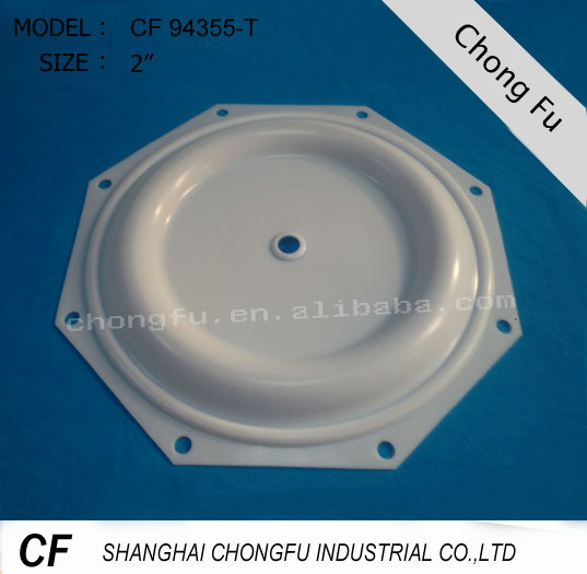 CF 94355-T high quality teflon pump parts for pneumatic diaphragm pump