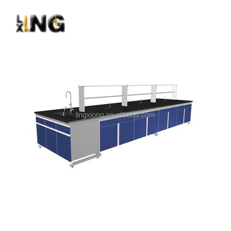 LingXiong LT002 dental physics lab work table with sink