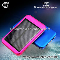 2014 fashionable new solar power battery bank for mobile phone/battery case
