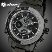 INFANTRY Man Smart Multiple Time Zone Watch