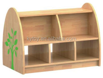 Two sides Bookshelf for children