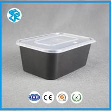 Explosion models hard plastic packaging box disposable storage container food with lid
