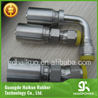 Sandblaster Used rubber compression fitting hydraulic hose jic female fittings elbow pipe fitting 90 degree