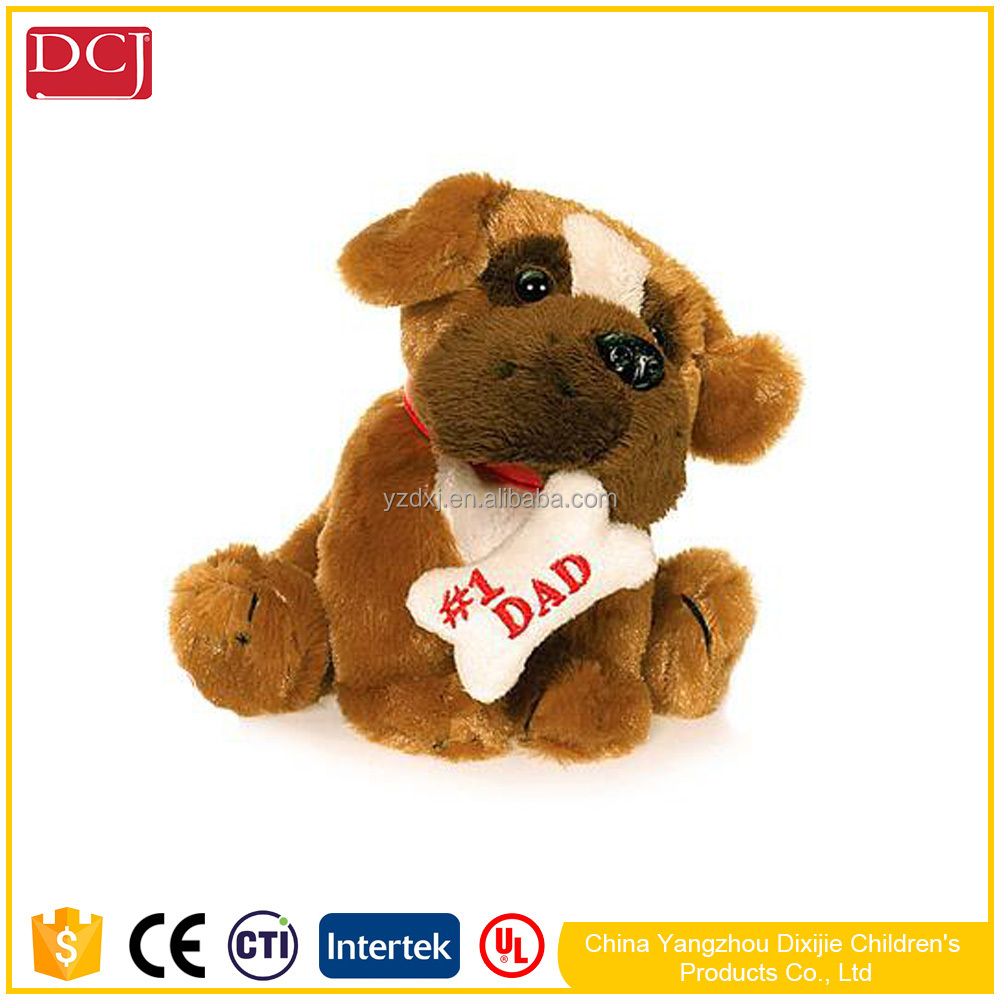 plush dogs with bones personalized design toys