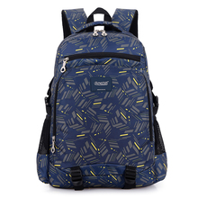 nylon custom black laptop backpack computer backpack