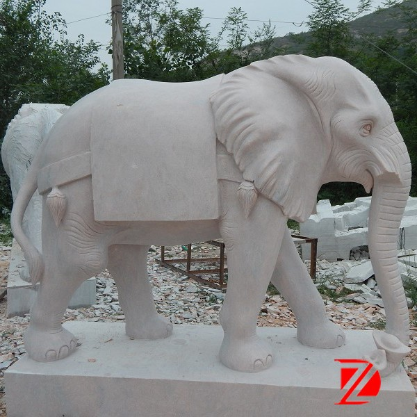indian marble carving elephants