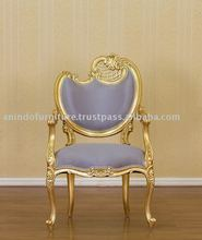 French Furniture - Gold Gilt Gull Chair 1 Seater Right