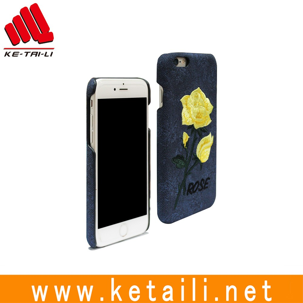 Wholesale Newest custom embroidery phone case for iphone 6s