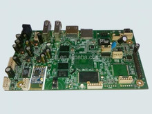 PCBA sub-marine controller boards with BGA 0201 chip 10-layer press-fit connector