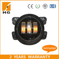 Hot selling 30w Round LED Fog Light/Car accessories for Jeep/Wrangler/Dodge
