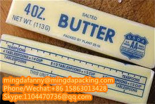 chinese factory good price pe coated paper for butter wrapping,butter wrapping paper