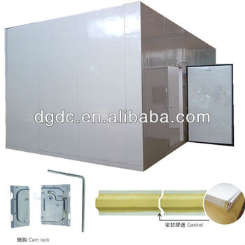 Pu Insulation Cold Storage Room For Meat Processing