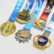 2018 No minimum order cheap custom metal medals and trophies