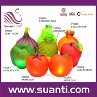 High quality polyresin fruit shape candle holder