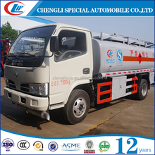 Chemical tanker truck 5000 liters aviation fuel tanker truck