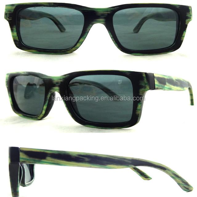 Fashion Camouflage wooden sunglasses/Bamboo Eyeglasses