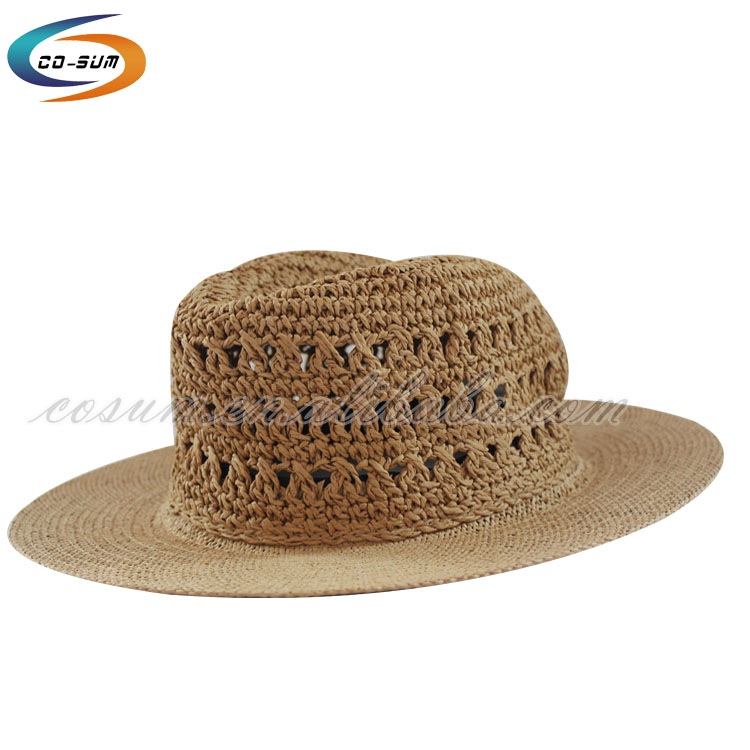 High quality coolie panama hat hot selling