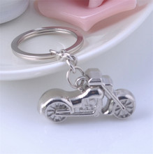 Exquisite motorcycle keychains key chain creative motorbike keyring gadget trinket key ring key for car purse bag gifts