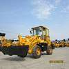 CE approved china 1.8 ton mini wheel loader zl18 with Joystick & A/C for sale