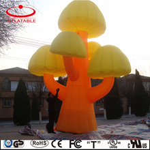 cute design inflatable tree model replica for decoration
