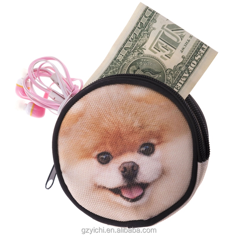 Small Size Cute Animal Style Fashion Women Travel Wallets Custom Coin Purse Design