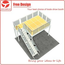 Yota offer double deck exhibition booth,expo stands in Shanghai