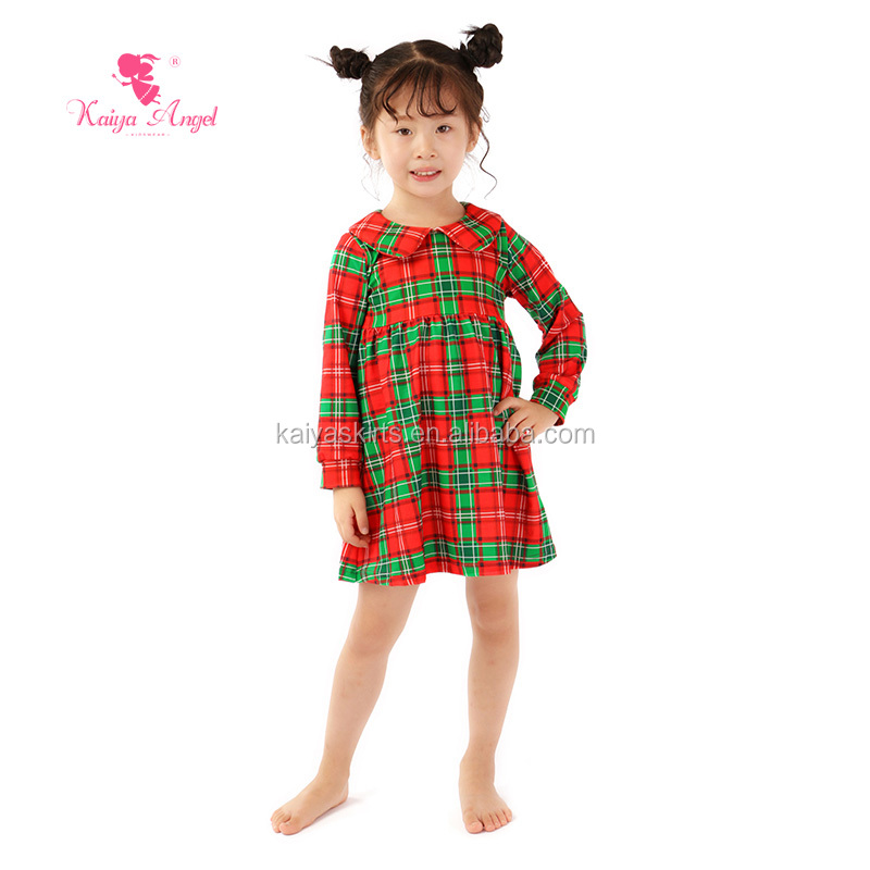 kids clothes wholesale china boutique baby girls Christmas dresses