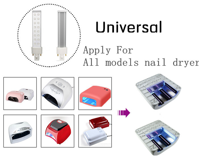 Factory Directly Provide Good Quality 9W Uv Light Nail Dryer