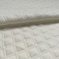 Hangzhou comfort home textile modern design 100% polyester jacquard knitting mattress fabric