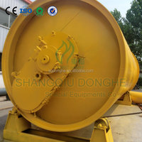Hot sale continuous scrap tyre pyrolysis machinery