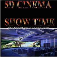 2014 Newest 5D cinema simulator