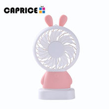manufacturer custom small usha portable mini rechargeable table handheld air cooler fan for kids gift