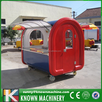 new style stainless steel folding food cart