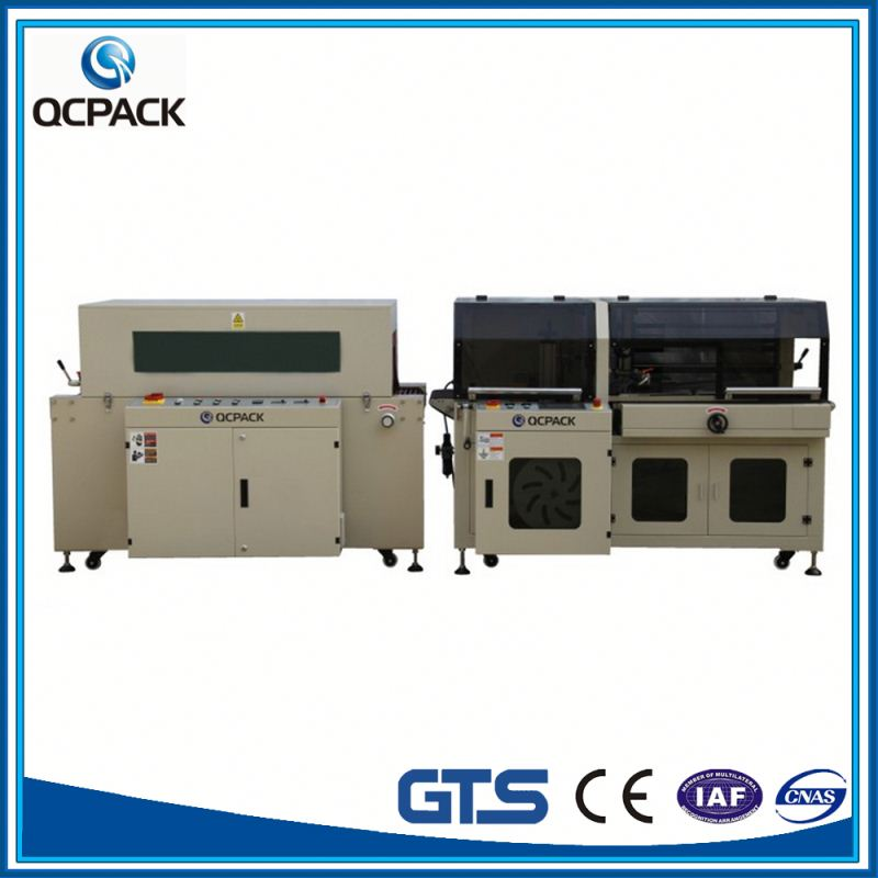 High Speed POF/ BODP Film Cellophane Table TOP Chamber Vacuum Wrapping Shrink Package Machine