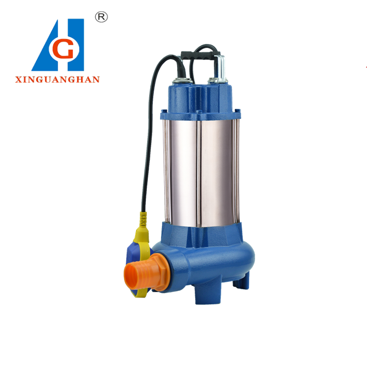 100% COPPER WIRE 220V/380V vertical sewage submersible pump