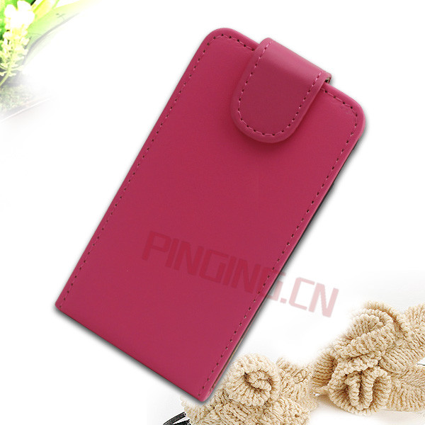 Leather flip case protective cover for samsung galaxy ace 2 i8160