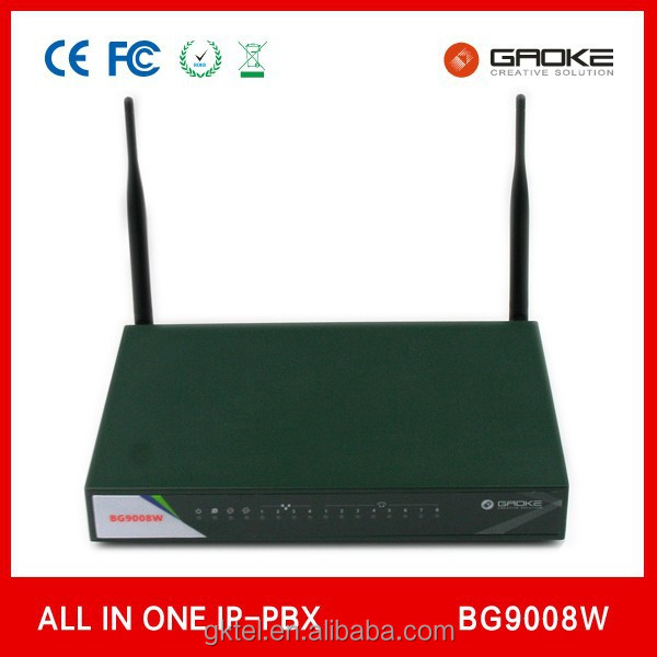 WIFI IP PBX BG9008W IP Phone System 3G/4G,WLAN,VPN,Gigabit Router with Cheap Price